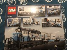 Maersk train - very rare, Lego 10219, Thomas Dempsey, Train