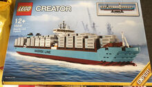 Maersk Triple E ship container, Lego 10241, Thomas Dempsey, Creator