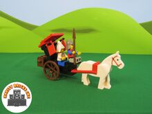 Maiden's Cart, Lego 6023, Rarity Bricks Inc, Castle, Cape Town