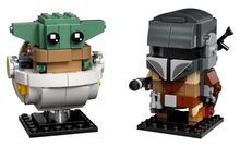 The Mandalorian and the Child Brickheadz, Lego, Creations4you, BrickHeadz, Worcester