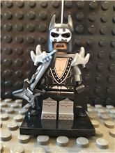 Glam Metal minifigure, The LEGO Batman Movie, Series 1 (Complete - NEW), Lego 71017-2, NiksBriks, Minifigures, Skipton, UK
