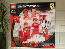 Michael Schumacher and Rubens Barrichello, Lego, Creations4you, Speed Champions, Worcester