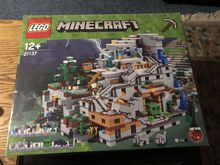 Minecraft The Mountain Cave Lego 21137