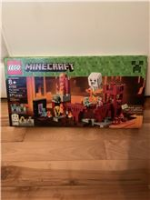 Minecraft The nether fortress Lego 21122