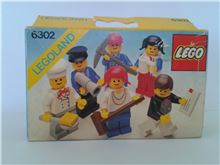 Mini-Figures, Lego 6302, Don Wilder, LEGOLAND