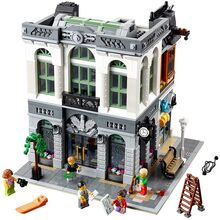 Modular Brick Bank (Retired), Lego, Dream Bricks, Modular Buildings, Worcester