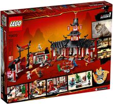 Monastery of Spinjitzu 70670 (2019) Lego 70670
