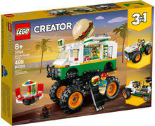 Monster Burger Truck, Lego 31104, Christos Varosis, Creator