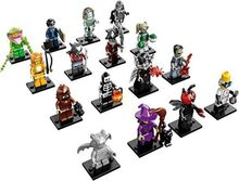 Monster Fighters Series 14 Complete Set of 16 Minifigures, Lego, Dream Bricks, Monster Fighters, Worcester
