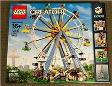 Ferris Wheel 2015 Retired Set, Lego 10247, Christos Varosis, Creator, Serres