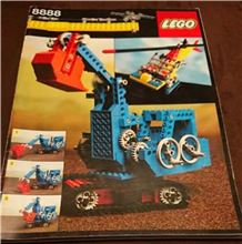 Lego 8888 Instruction Manual, Lego 8888, PeterM, other, Johannesburg