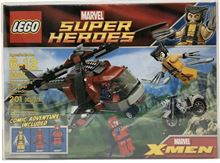 Wolverines Chopper Showdown, Lego 6866, James, Super Heroes