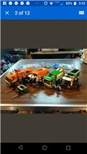 City garbage trucks, Lego 4432, Mike, City, Providence