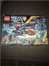 Nexo Knights- clays falcon fighter blaster, Lego 70351, Felicity, NEXO KNIGHTS, Cardiff