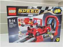 Ferrari FXX K & Development Center, Lego 75882, Henk Visser, Speed Champions, Johannesburg