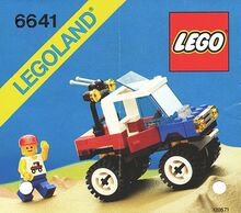 Vintage 4x4 Truck, Lego, Creations4you, City, Worcester
