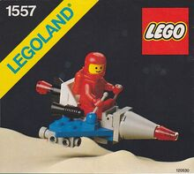 Vintage Space Scooter Lego