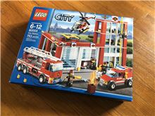 Fire Station, Lego 60004, Christos Varosis, City, Serres