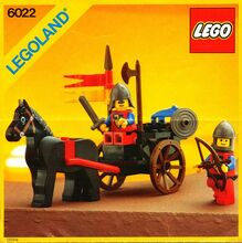 Horse Cart, Lego 6022, Creations4you, Castle, Worcester