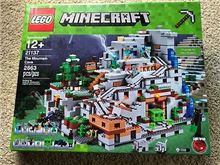 Lego 21137 The Mountain Cave, Lego 21137, Brickworldqc, Minecraft
