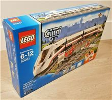 High-Speed Passenger Train, Lego 60051, Christos Varosis, City, Serres