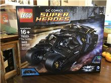 The Tumbler, Lego 76023, Christos Varosis, Super Heroes, Serres