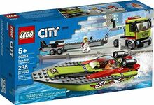 Race Boat Transporter, Lego 60254, Christos Varosis, City