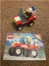 Rescue Runabout Fire Fighter Lego 6511