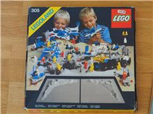 Lego Space classic: 305 Crater Plate, with BOX, Lego 305, Jochen, Space, Radolfzell
