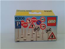 Road Signs, Lego 6306, Don Wilder, LEGOLAND