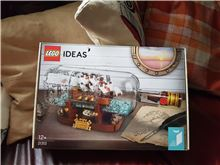 Ship in a bottle brand new, Lego 21313, laura , Ideas/CUUSOO, Stamford