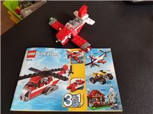 Red Thunder, Lego 31013, WayTooManyBricks, Creator, Essex