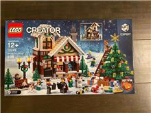 Winter Toy Shop, Lego 10249, Christos Varosis, Creator