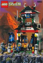 Samurai Stronghold, Lego 6083, Creations4you, NINJAGO, Worcester
