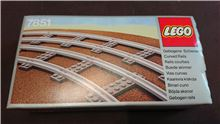 Curved Rails, Lego 7851, PeterM, Train, Johannesburg