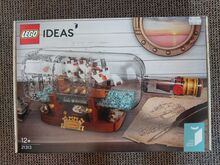 Ship in a Bottle Lego 21313
