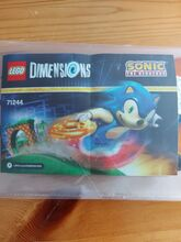 Sonic the hedgehog level pack, Lego 71244, Paula, other, Bedfordshire