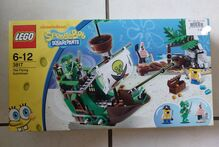 Spongebob Squarepants The Flying Dutchman Lego 3817