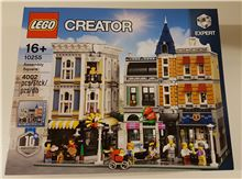 Stadtleben / Assembly Square, Lego 10255, Simon Stratton, Modular Buildings, Zumikon