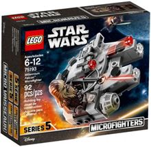 STAR WARS Millennium Falcon Microfighter, Lego 75193, Ernst, Star Wars