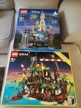 Super 3 Set Disney Castle, Pirates of Barracuda Bay and Exclusive Hagrid Combo! Lego