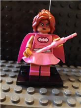 Pink Power Batgirl minifigure The LEGO Batman Movie Series 1 Complete 71017, Lego 71017-10, NiksBriks, Minifigures, Skipton, UK
