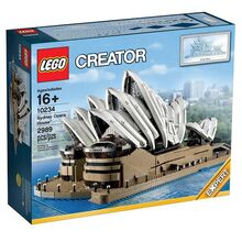 Sydney opera house, Lego 10234, Creations4you, Modular Buildings, Worcester