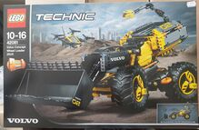 Technic Volvo Concept Wheel Loader ZEUX Lego 42081
