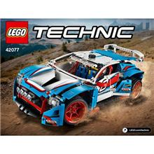 Technic Rally Car, Lego 42077, Werner, Technic, Springs