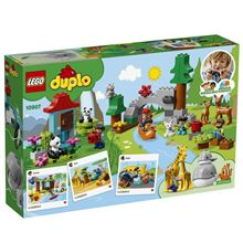 World Animals, Lego 10907, Christos Varosis, DUPLO, serres