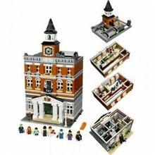 Town hall Modular, Lego, Creations4you, Modular Buildings, Worcester