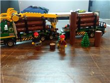 60059 log truck, Lego 60059, Mike, City, Providence