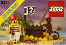 Buried Treasure, Lego 6235, Creations4you, Pirates, Worcester