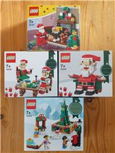 Various Christmas Sets, Lego, Tracey Nel, Classic, Edenvale